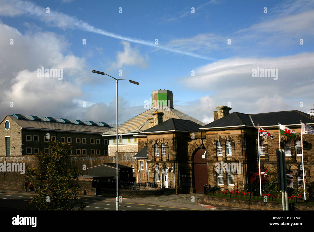 Swansea's most undesirable residence - the Gaol, 200 Oystermouth Rd, Swansea. - Stock Image