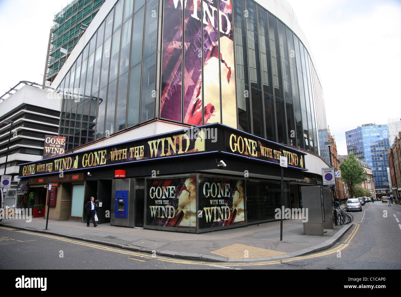 General view of the New London Theatre in Holborn, London, England. - Stock Image