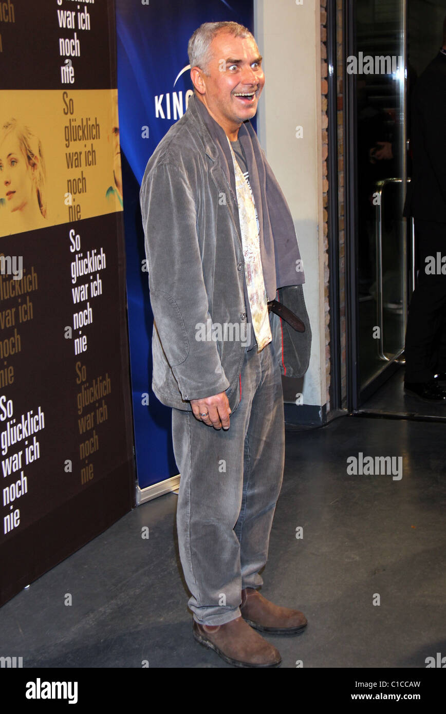 Hansa Czypionka Premiere Of So Glucklich War Ich Noch Nie At Kino Stock Photo Alamy