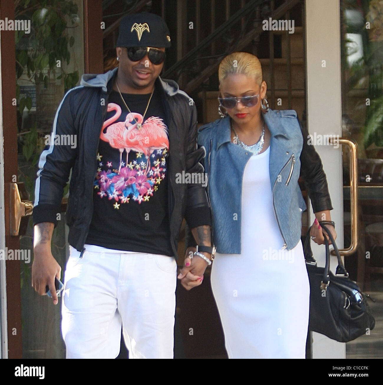 Christina Milian And Terius Nash Stock Photos & Christina ...