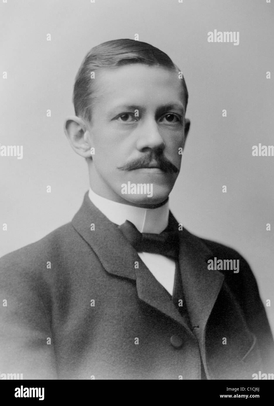 Swedish ophthalmologist Allvar Gullstrand (1862 - 1930) - winner of the Nobel Prize in Physiology or Medicine in - Stock Image