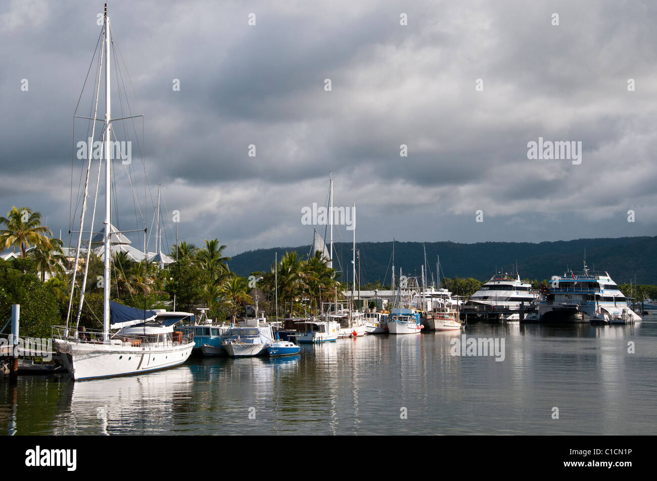 Harbor, Port Douglas, Queensland, Australia. - Stock Image