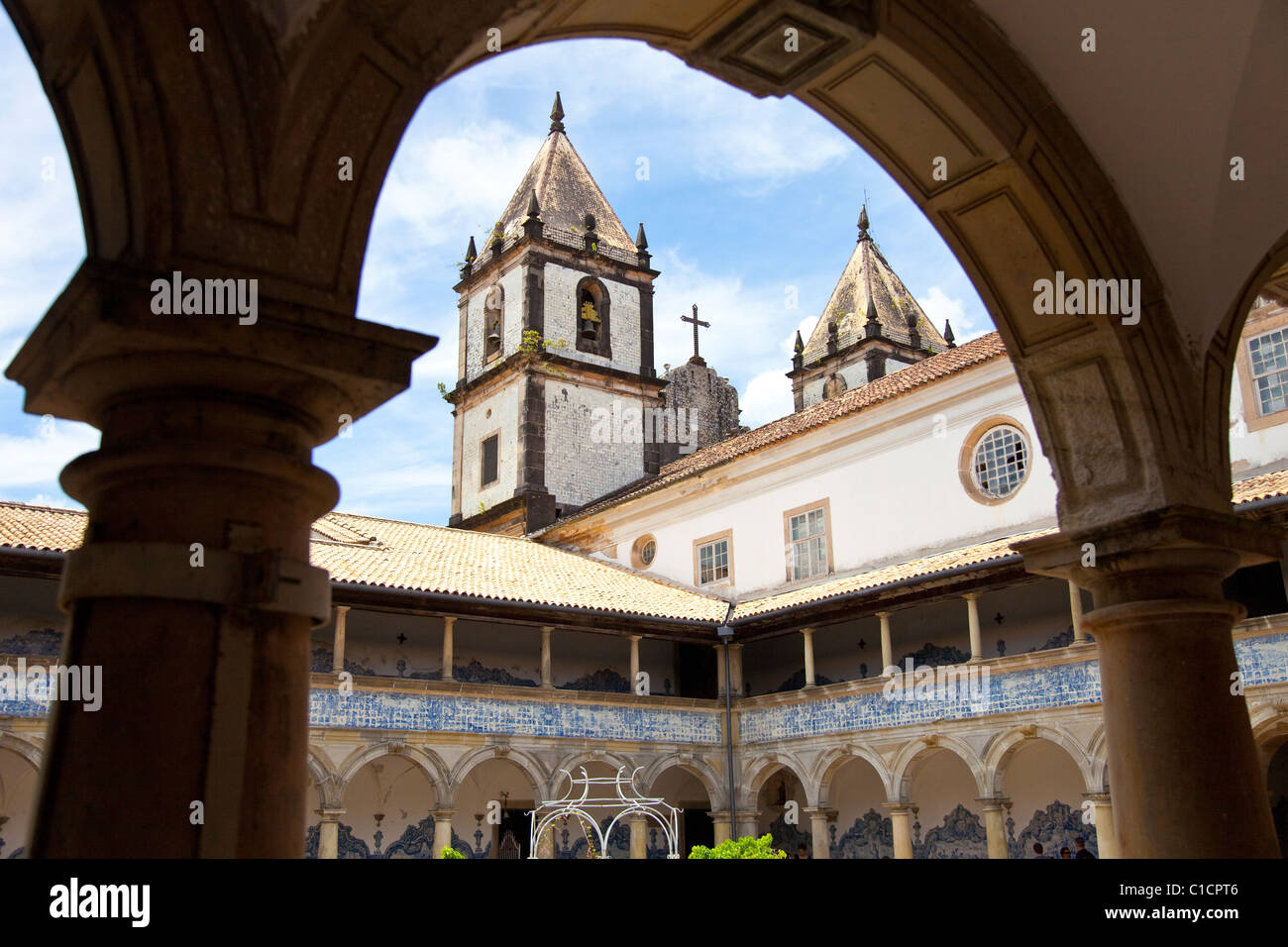 Igreja de Sao Francisco, Church and Convent of St. Francis, Salvador, Brazil - Stock Image