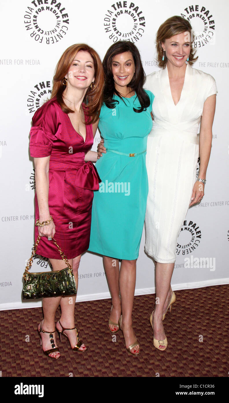 Dana Delany,Teri Hatcher, and Brenda Strong 'Desperate Housewives' PaleyFest09 event held at the ArcLight Cinemas Stock Photo