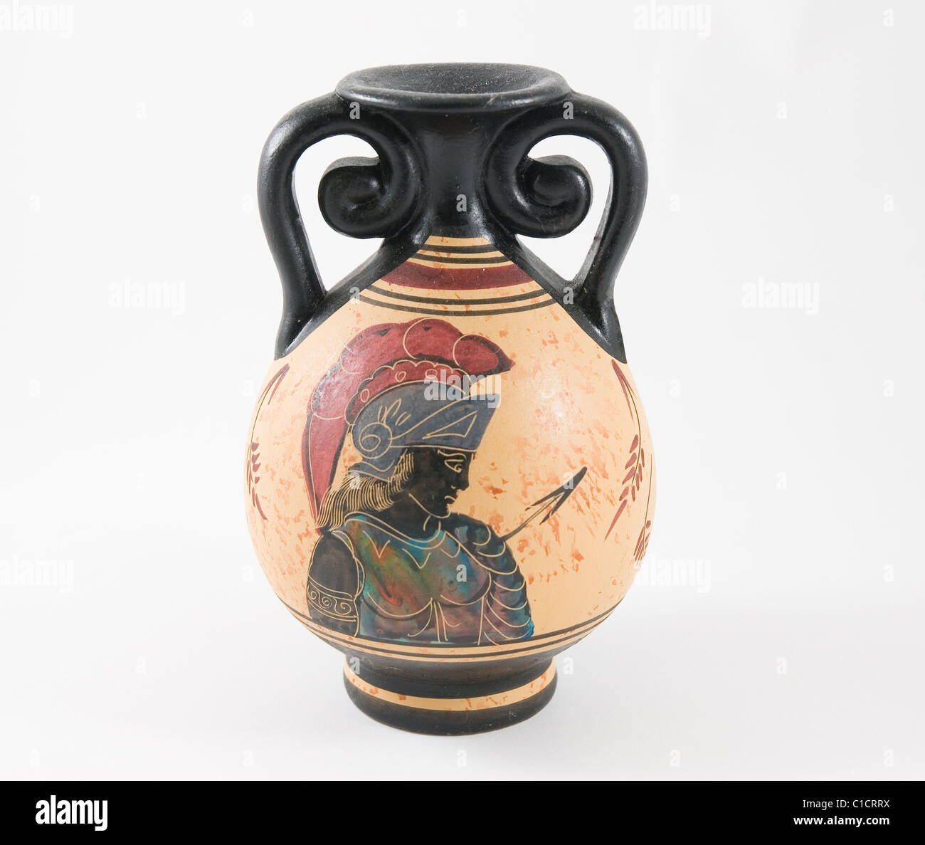 Ancient Greek jar - Stock Image