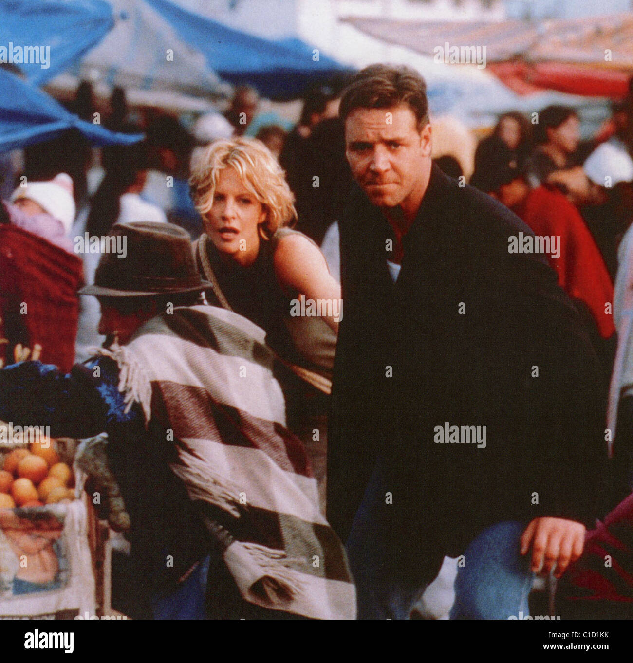 PROOF OF LIFE 2000 Bel Air/Castle Rock film with Russell Crowe and Meg Ryan - Stock Image