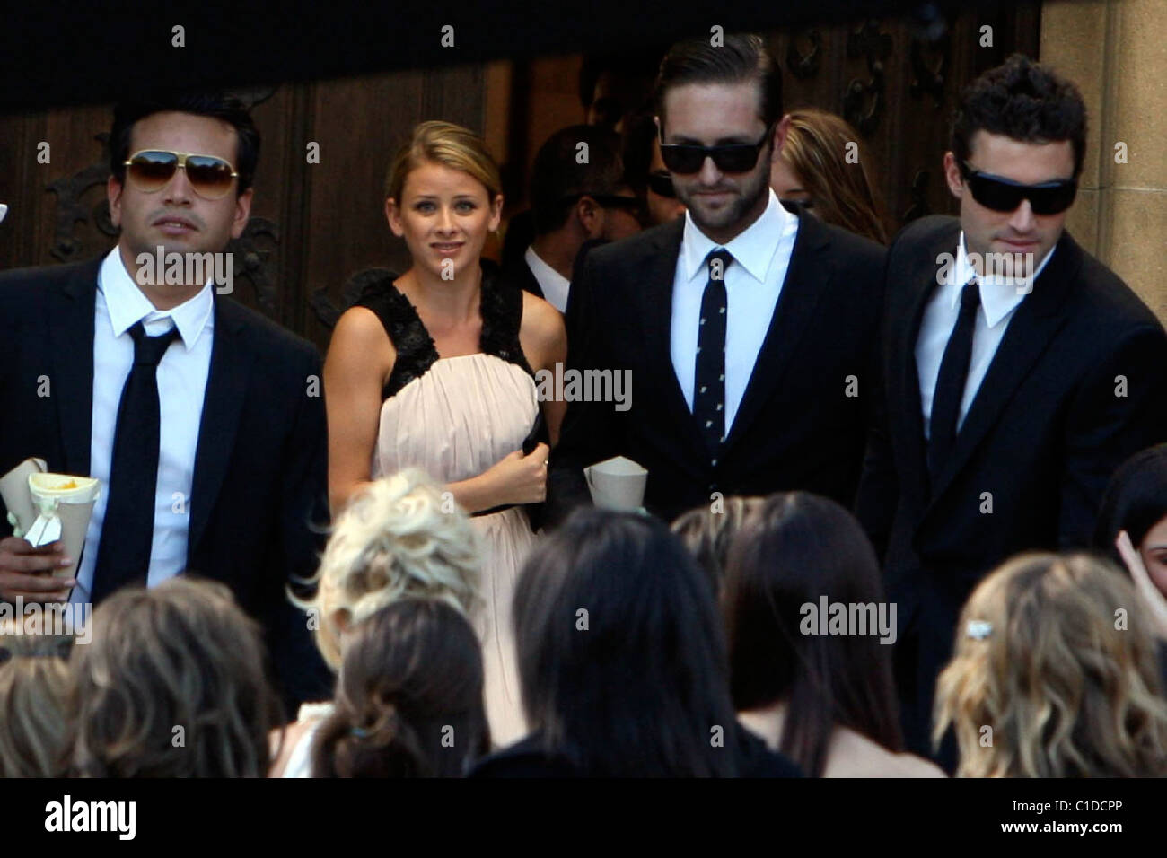 Lauren Bosworth The Hills Stars Spencer Pratt And Heidi Montag Get Stock Photo Alamy