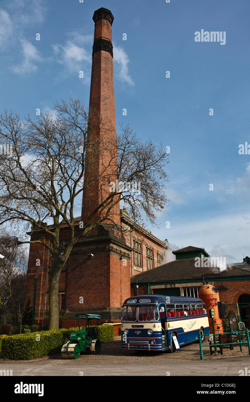 Abbey Pumping Station Museum, Leicester, Leicestershire, England - Stock Image