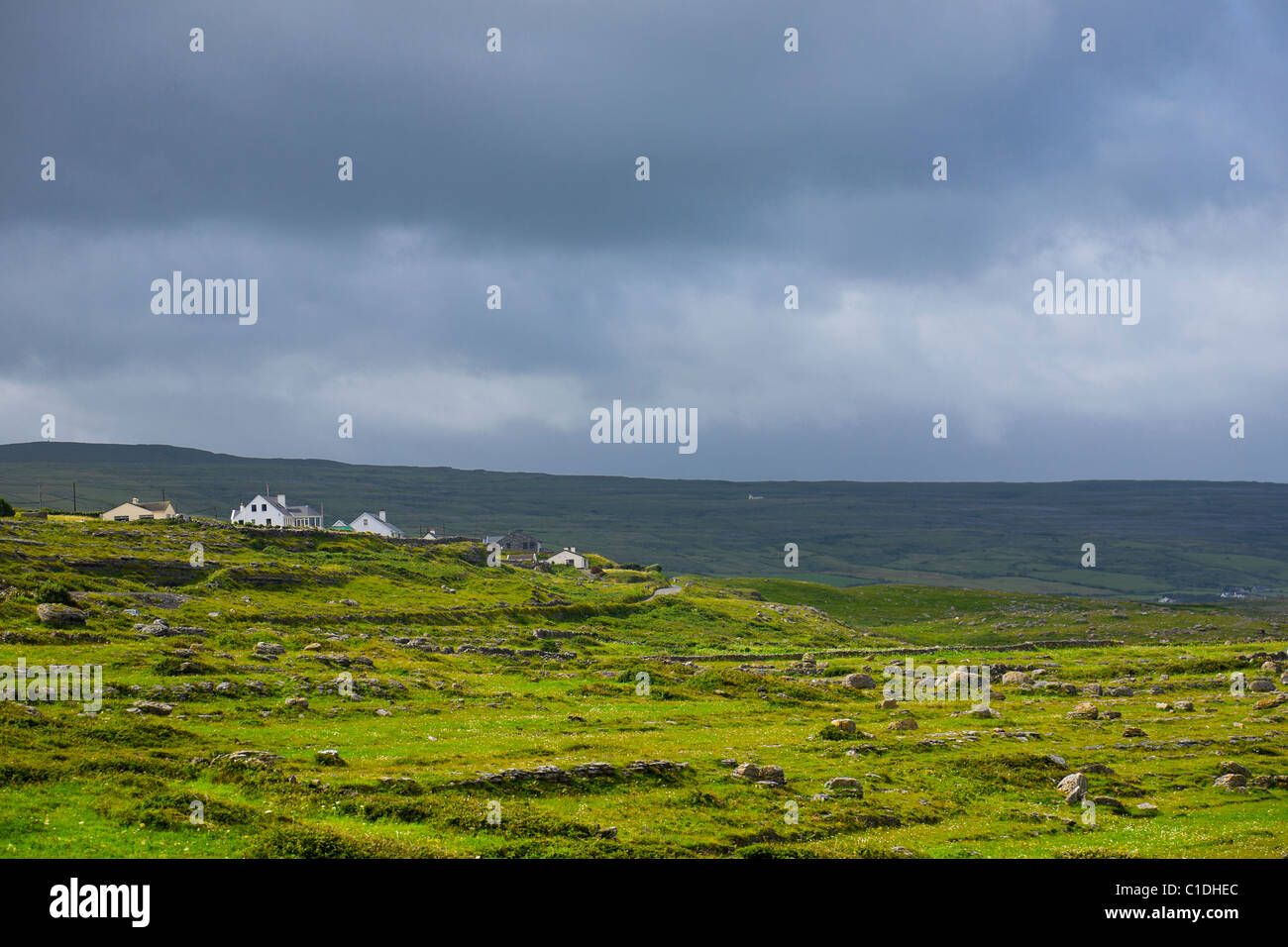 Fanore in County Clare on the west coast of Ireland - Stock Image