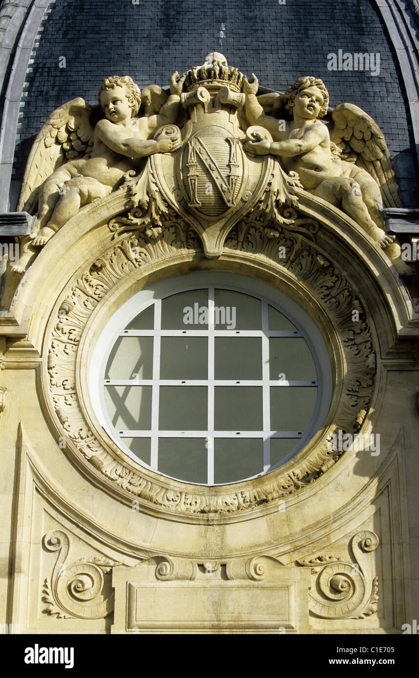 France, Paris, Ile de la Cite, Commercial Court - Stock Image