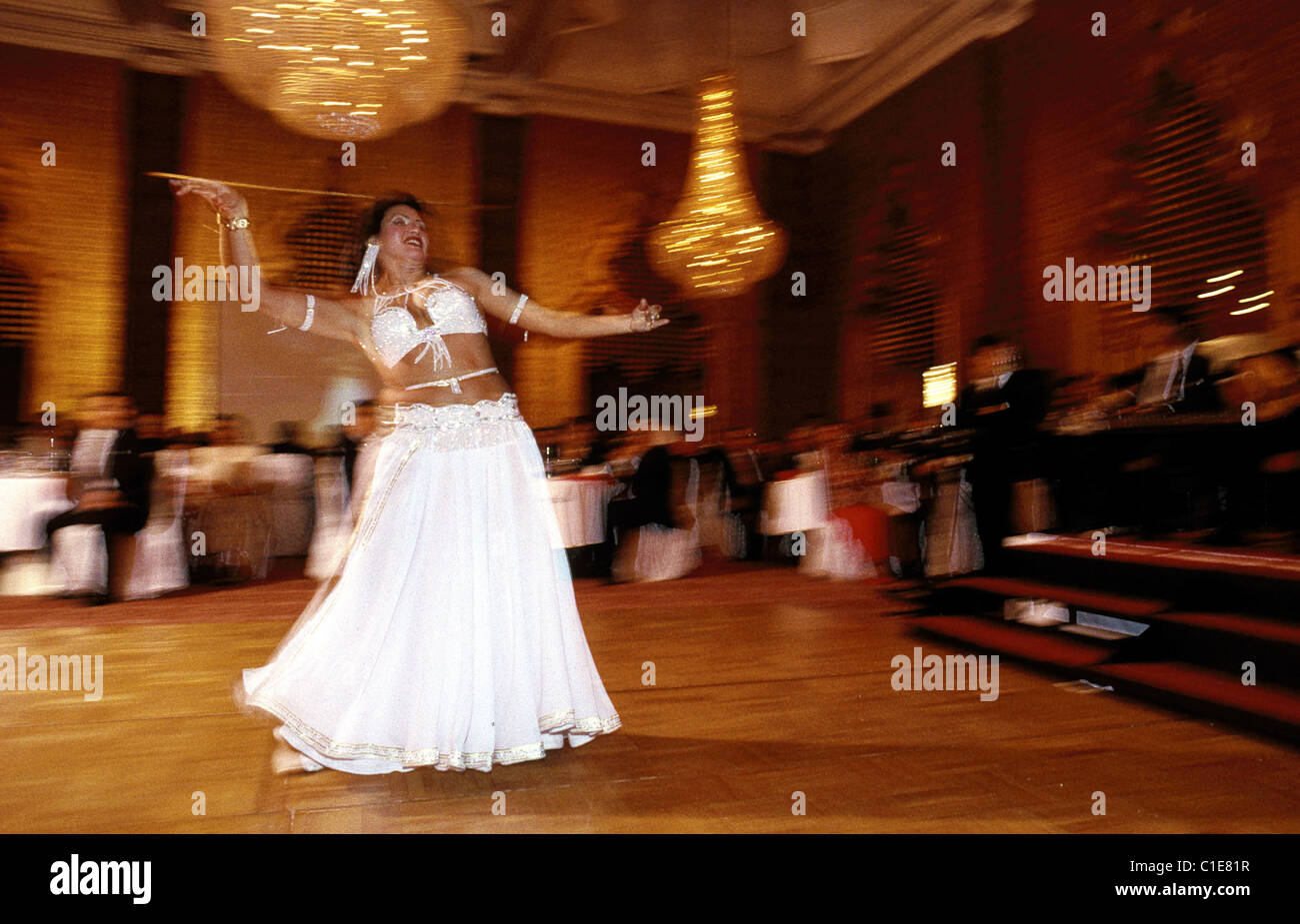Egypt Cairo Souk Bridal Belly Dance By Asmayan Stock Photo