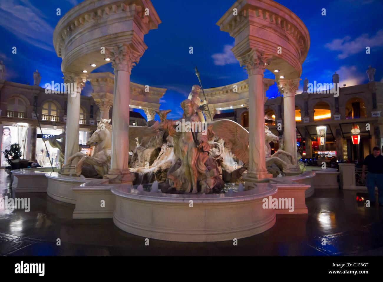 Caesars Palace Hotel Inside Las Vegas Stock Photo 35349464 Alamy