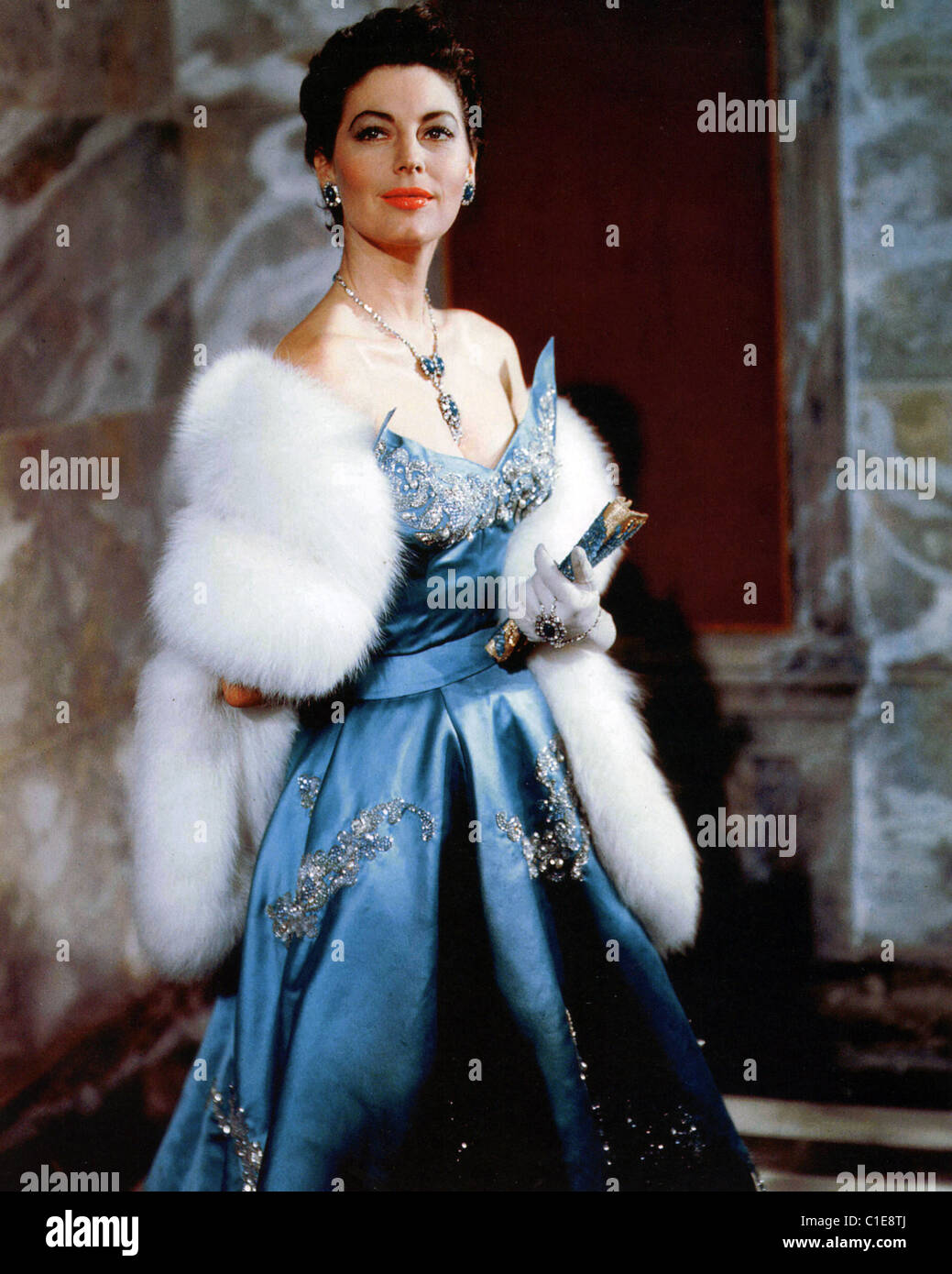 THE BAREFOOT CONTESSA 1954 United Artists film with Ava Gardner - Stock Image