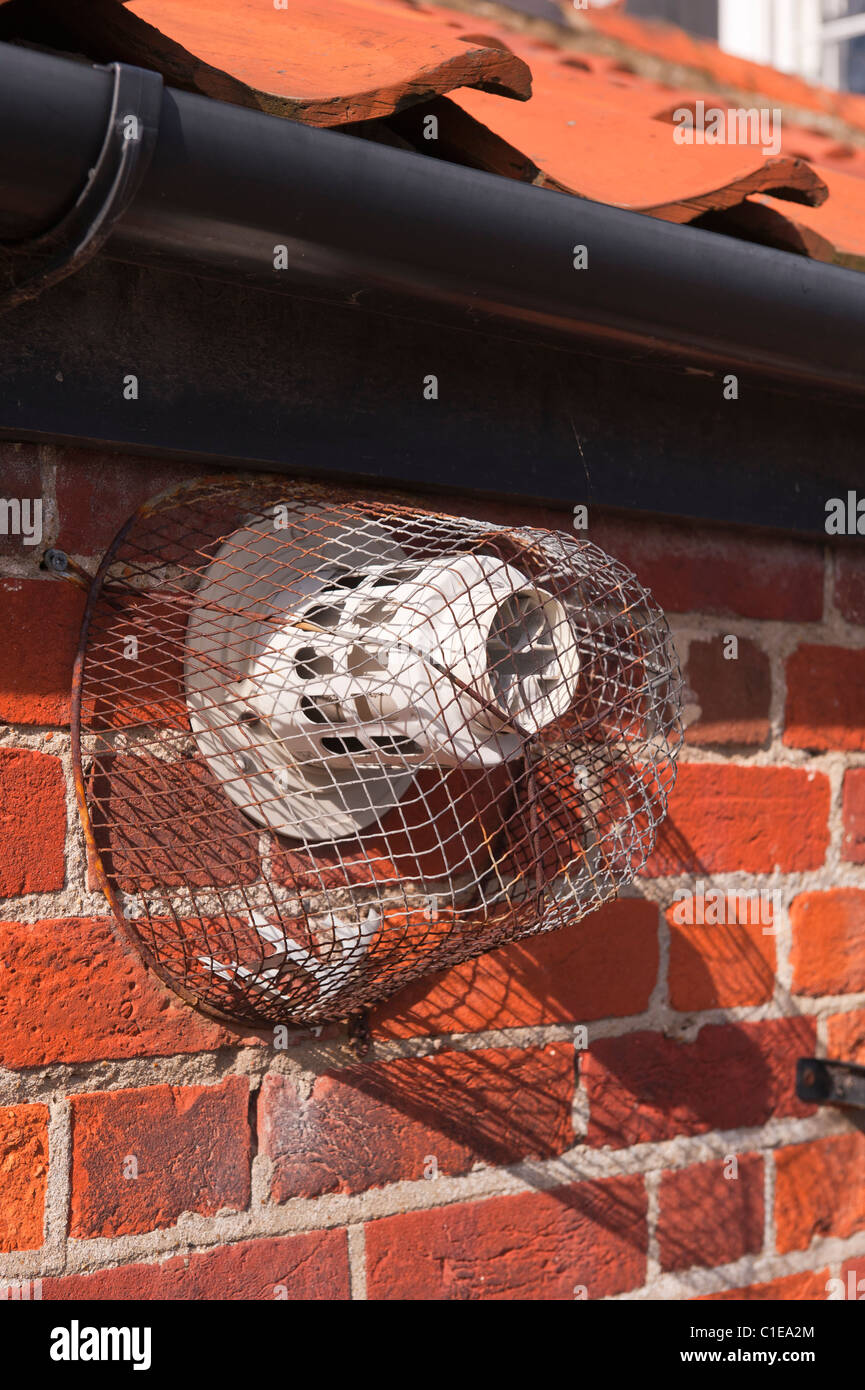 Awesome A Wire Mesh Cage To Protect An Exterior Vent Pipe On The Download Free Architecture Designs Sospemadebymaigaardcom