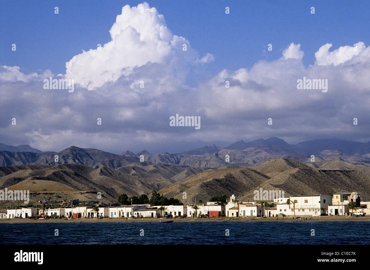 Djibouti, City of Tadjoura - Stock Image