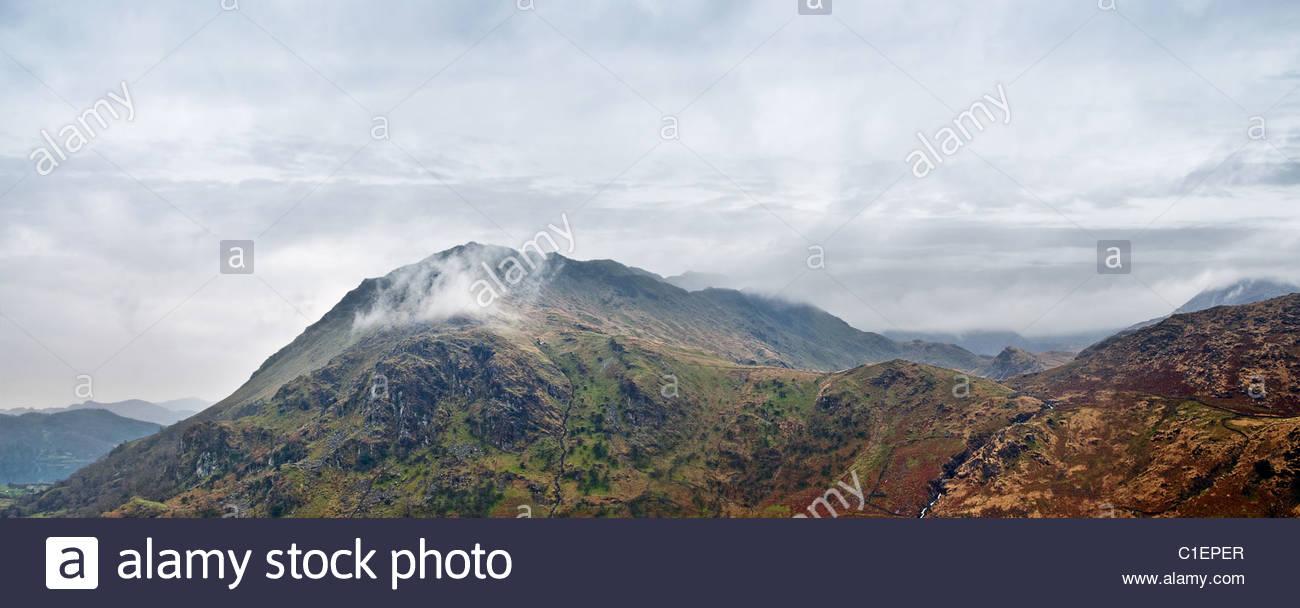 Mountain range - Stock Image