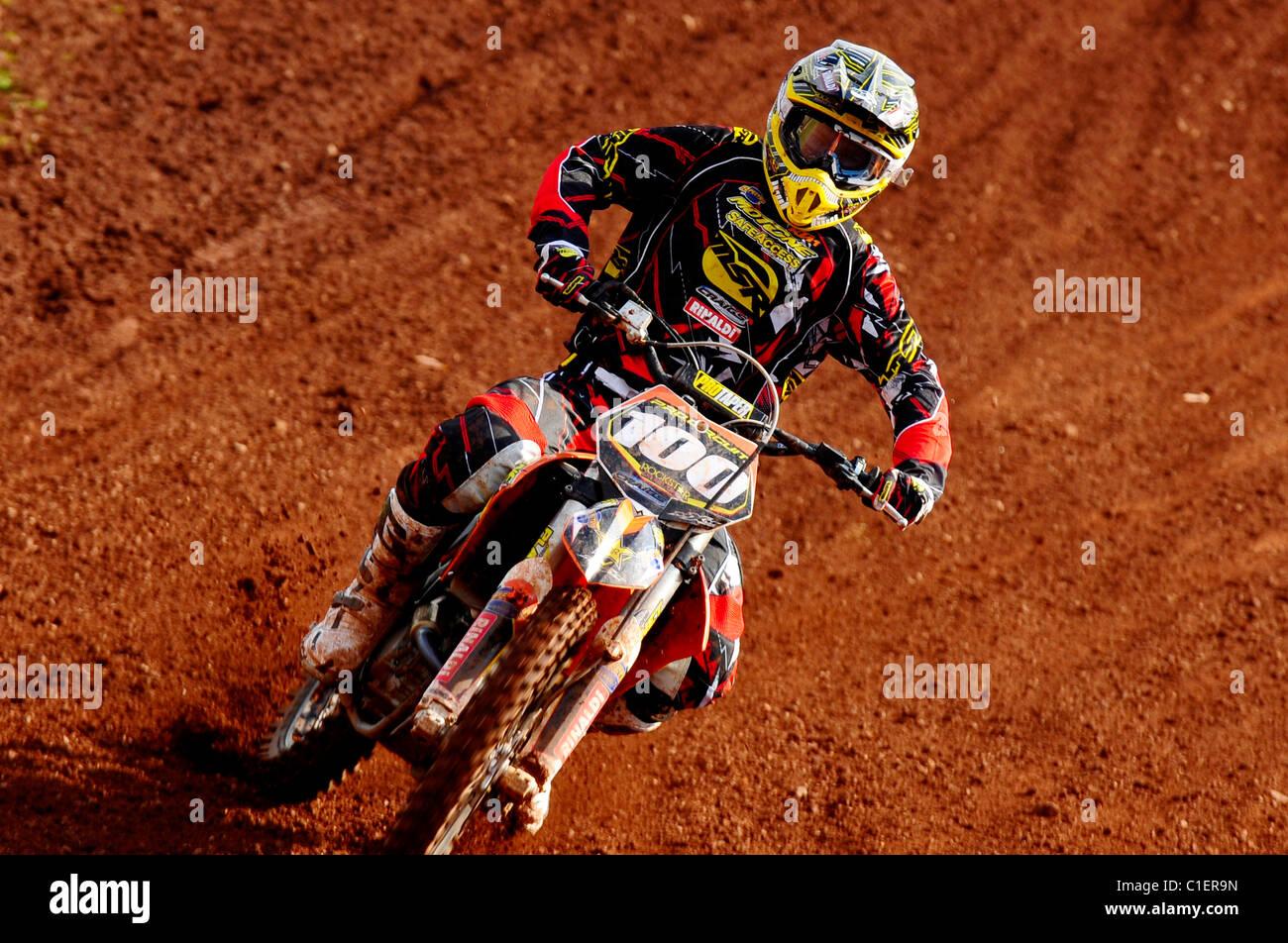 David Goosen - Maxxis British Motocross 2011 - Stock Image