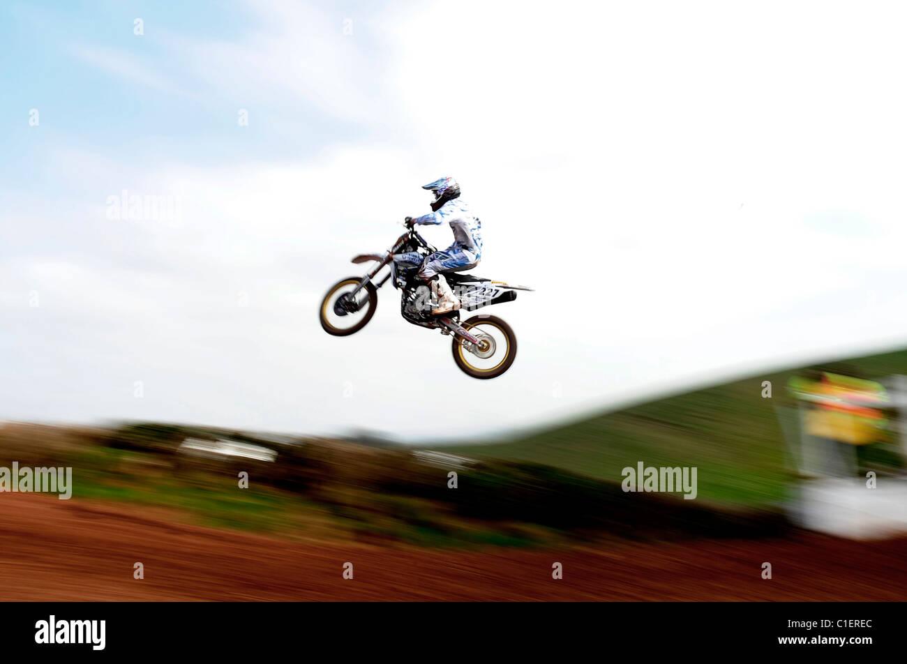 Kristian Whatley - Maxxis British Motocross 2011 - Stock Image