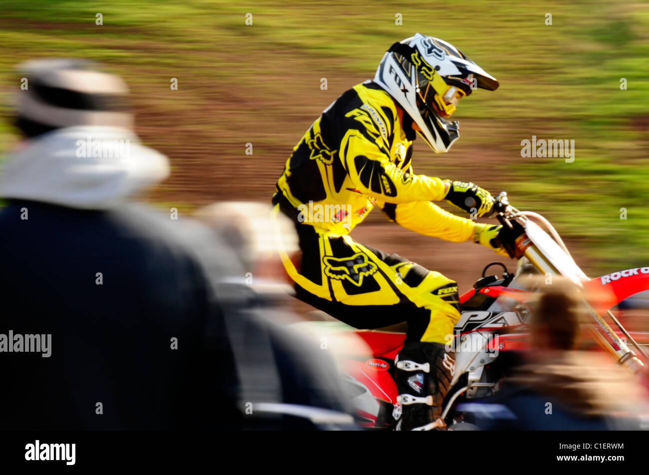 Brad Anderson - Maxxis British Motocross 2011 - Stock Image