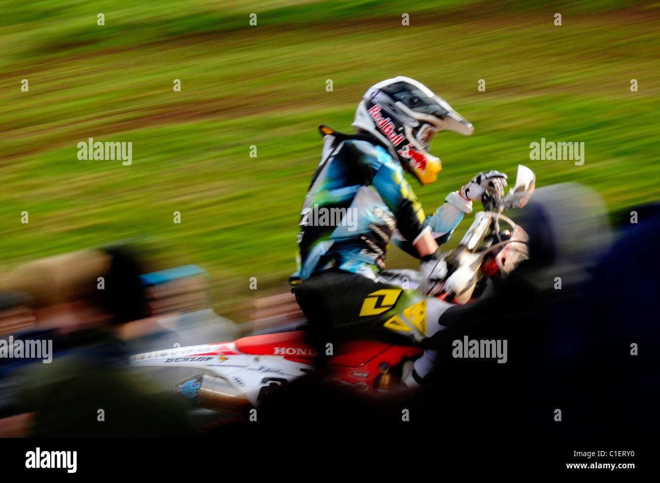 Shaun Simpson - Maxxis British Motocross 2011 - Stock Image