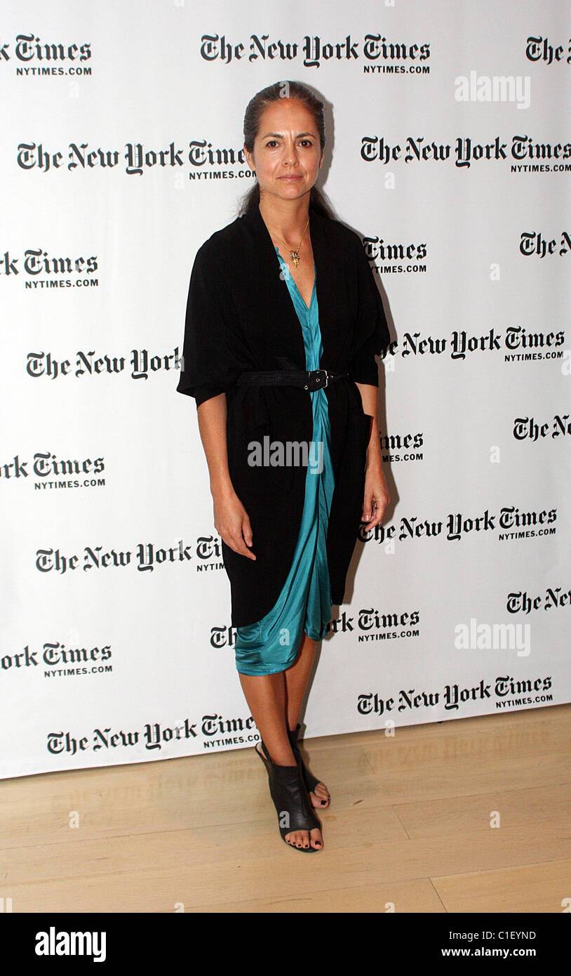 Fashion Designer Maria Cornejo The New York Times Sunday With The Stock Photo Alamy