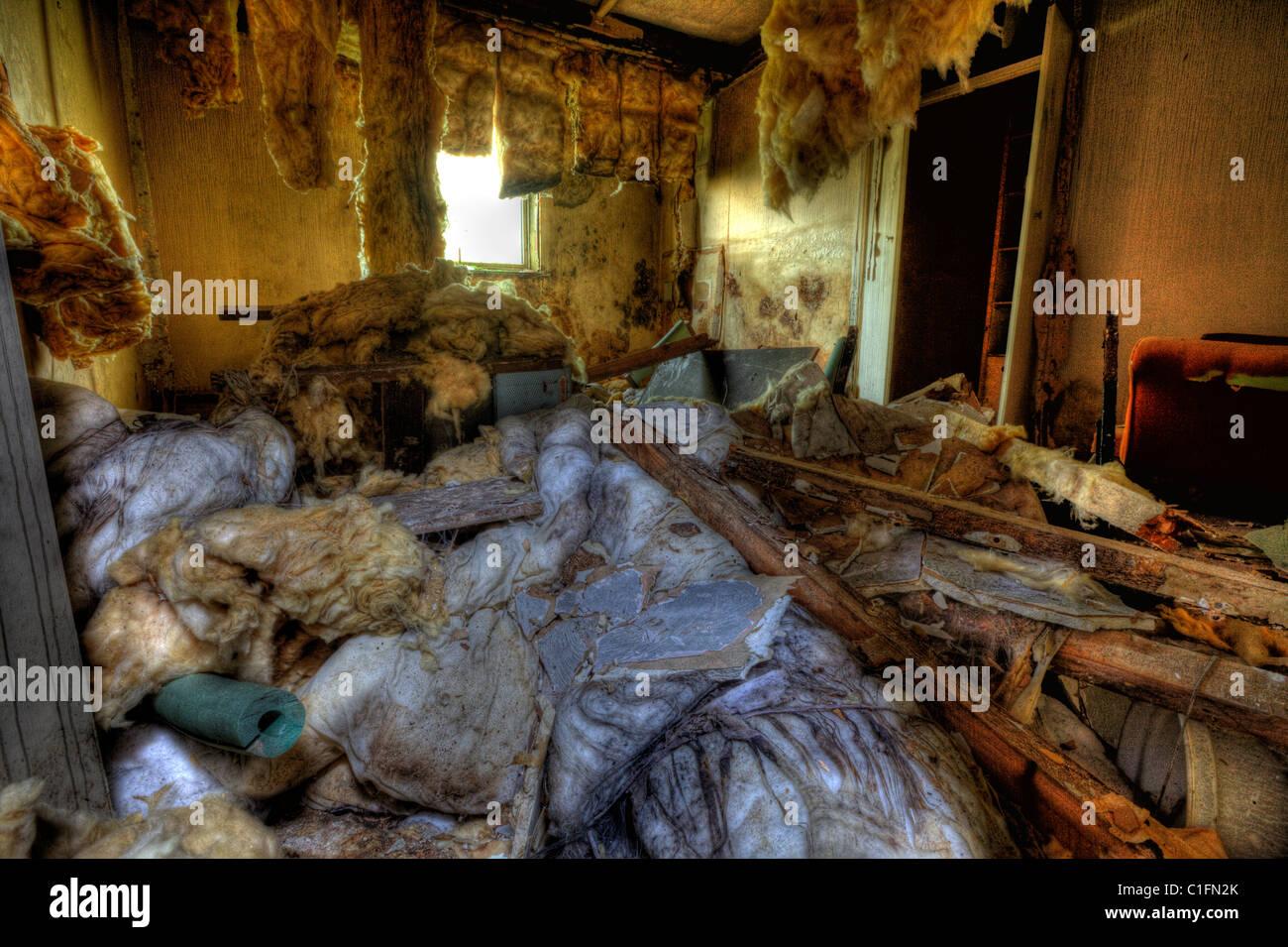 Derelict Drug Den Homeless Slum Derelict Surroundings