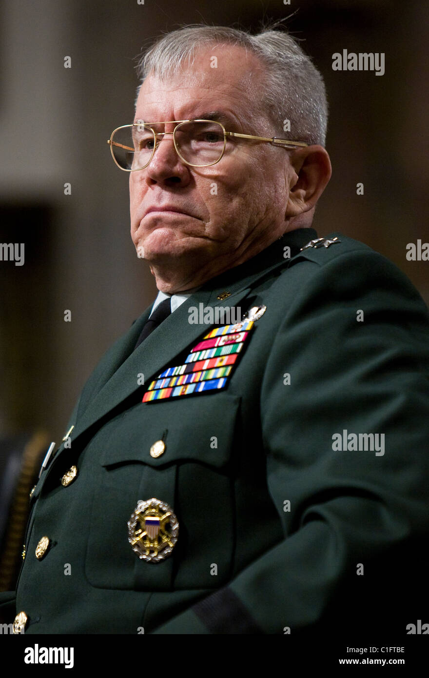 General Ronald L. Burgess, Jr., Director of the Defense Intelligence Agency (DIA) - Stock Image