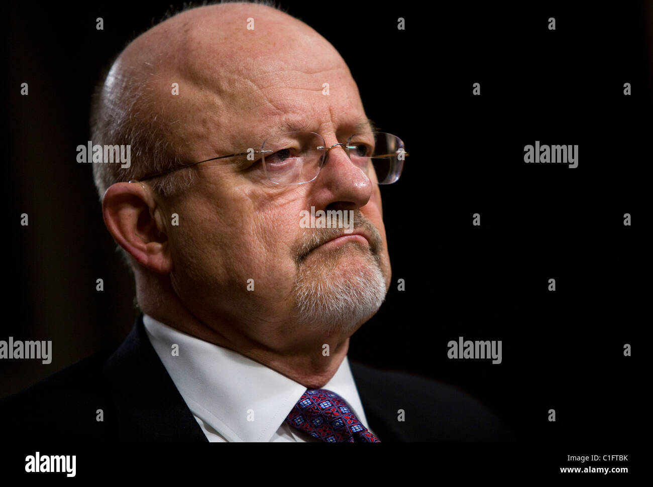 James Clapper, Director of National Intelligence.  - Stock Image