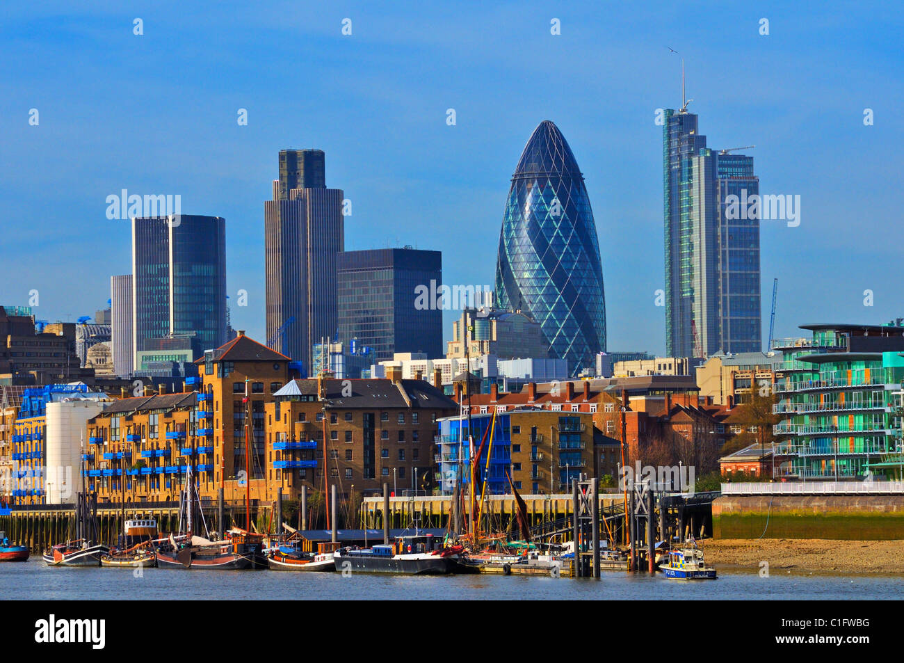 london skyline stock photos london skyline stock images. Black Bedroom Furniture Sets. Home Design Ideas