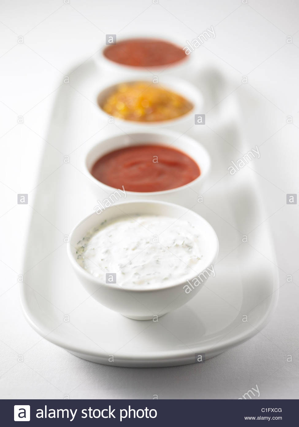 Four Dips - Stock Image