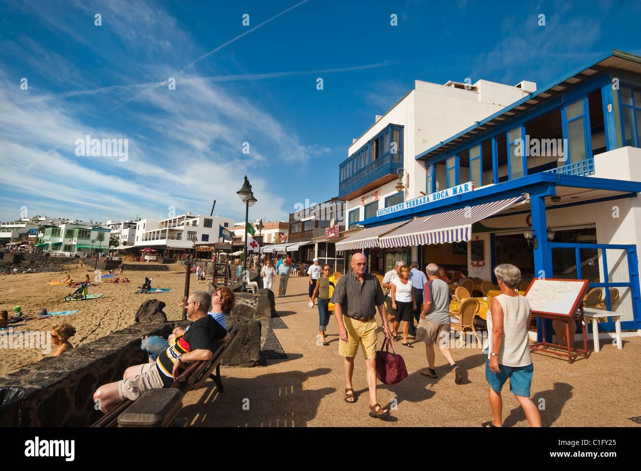 Sea Front Playa Blanca Lanzarote Stock Photos Sea Front
