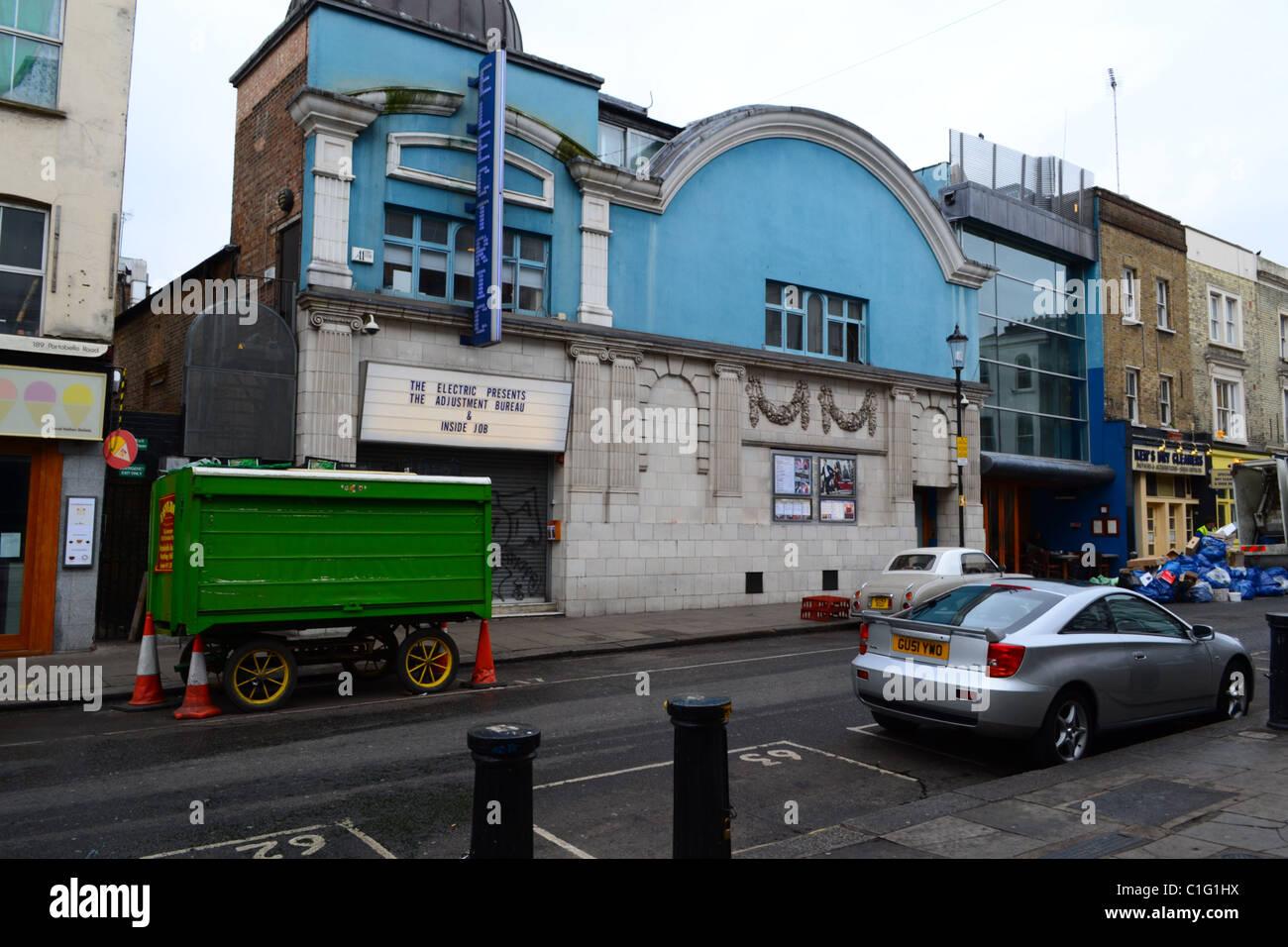 The 'Electric' Cinema, Portobello Road, Notting Hill - Stock Image