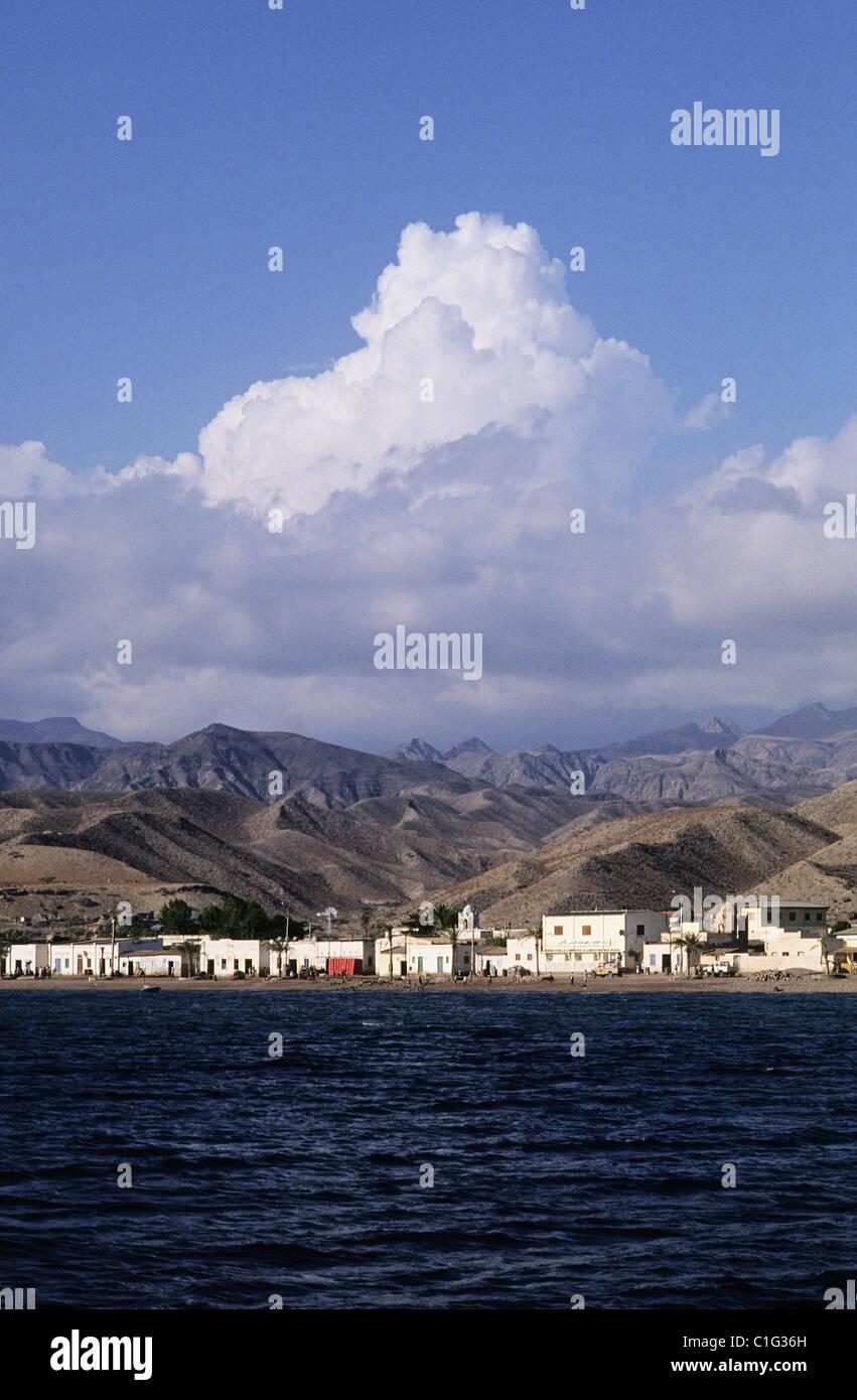 Republic of Djibouti, Tadjoura city - Stock Image