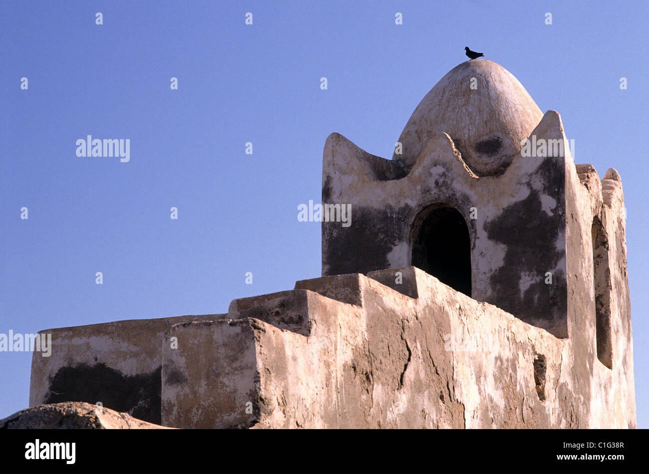 Republic of Djibouti, Tadjoura, the mosque - Stock Image