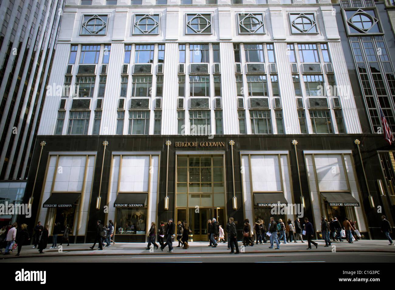 ef254c53d The Bergdorf Goodman department store mens' store in New York Stock ...