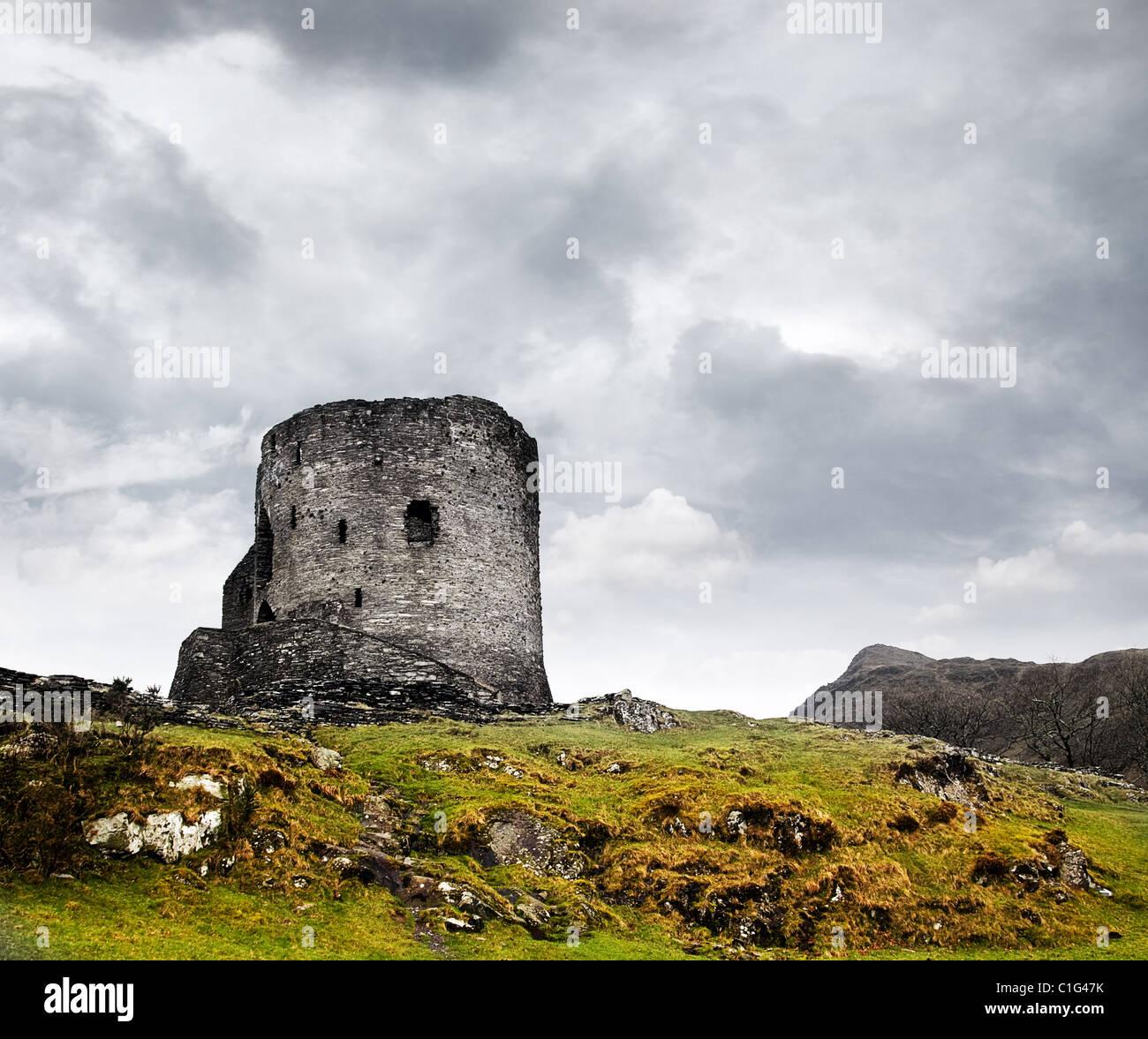 Dolbadarn castle Stock Photo