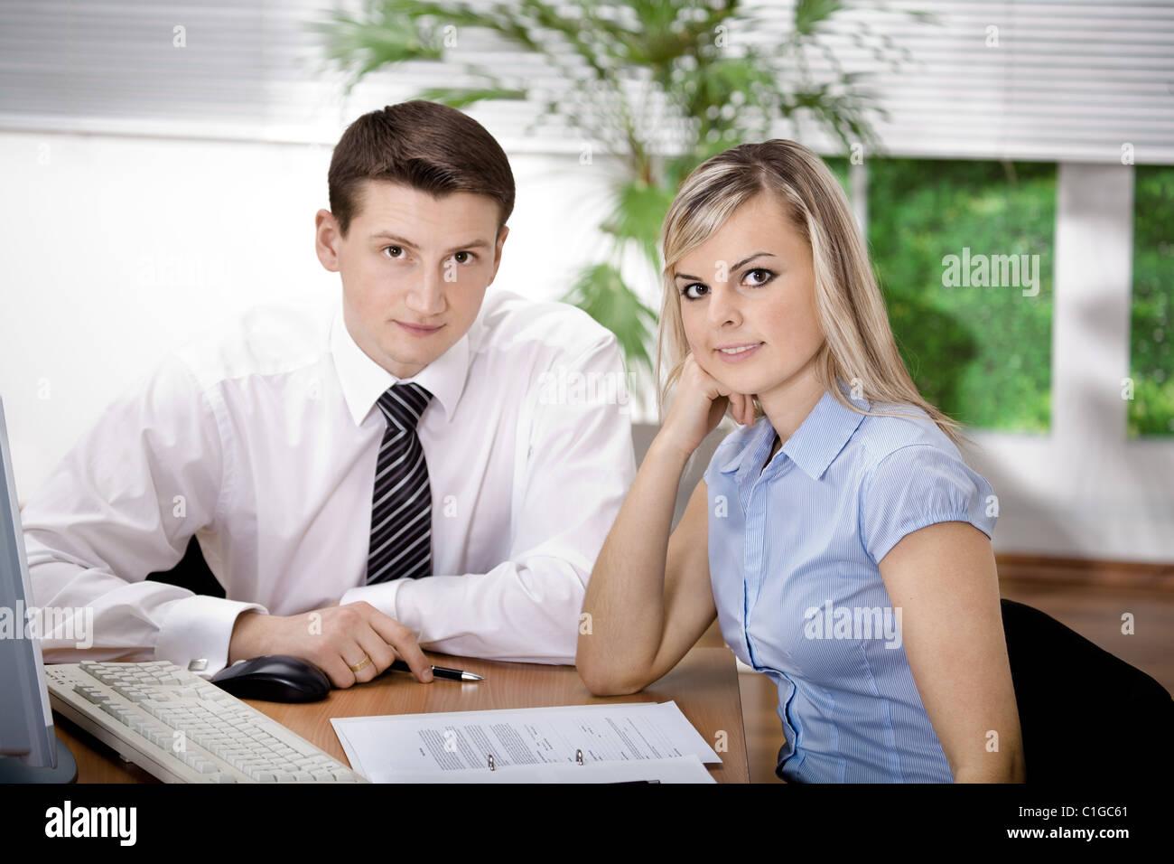 office team - Stock Image