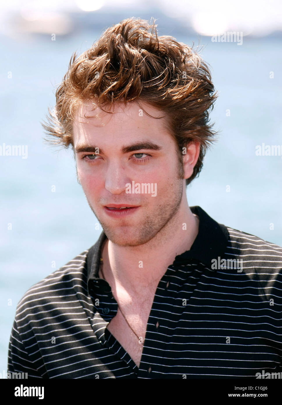 Robert Pattinson The 62nd Cannes Film Festival 2009 Day 7 New Moon, Twilight series - photocall Cannes, Frances - Stock Image