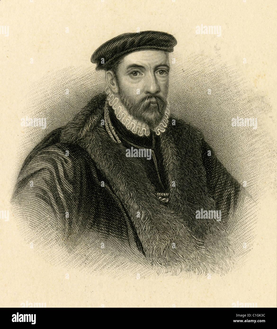 Sir Nicholas Bacon - Stock Image