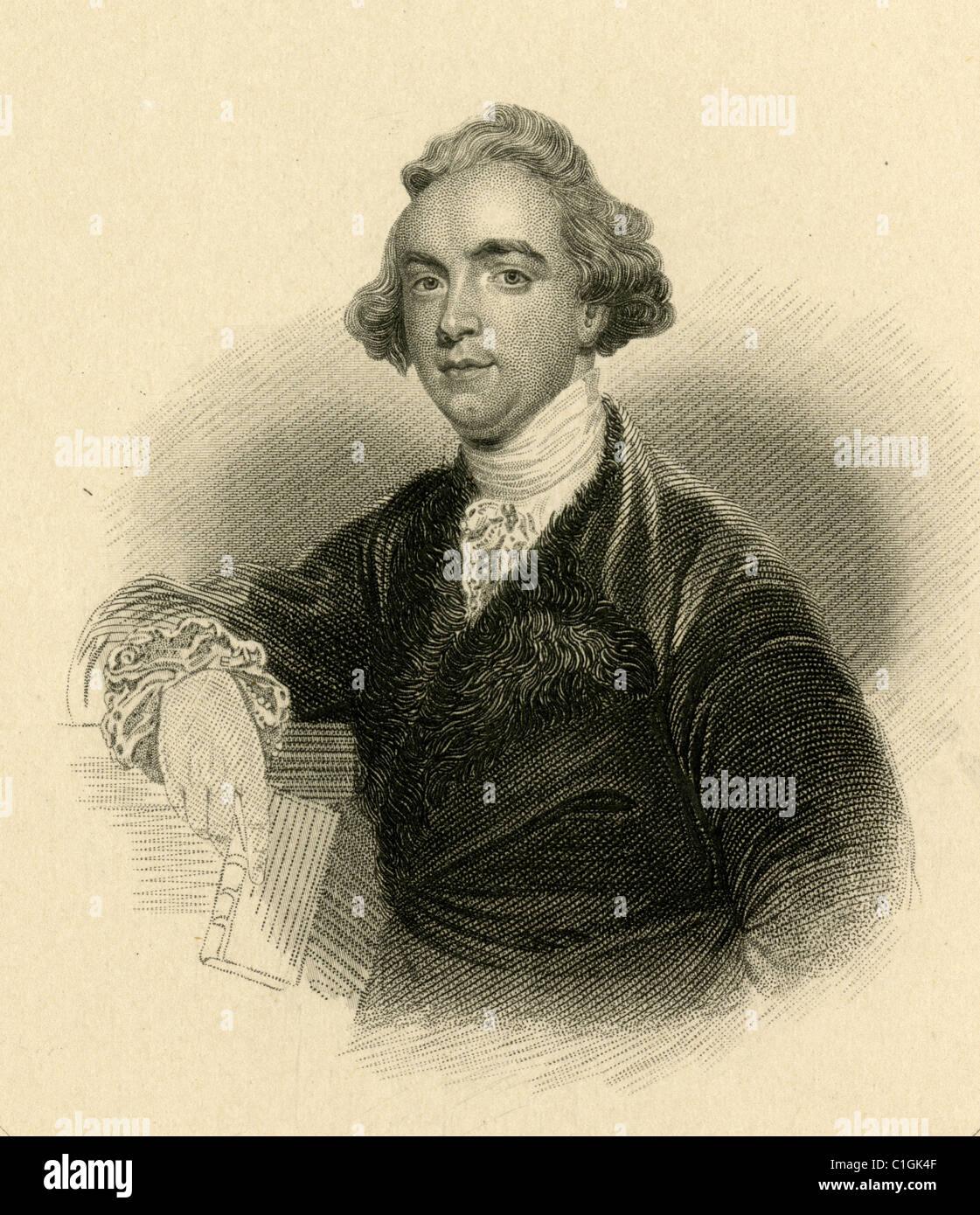 Sir William Jones - Stock Image