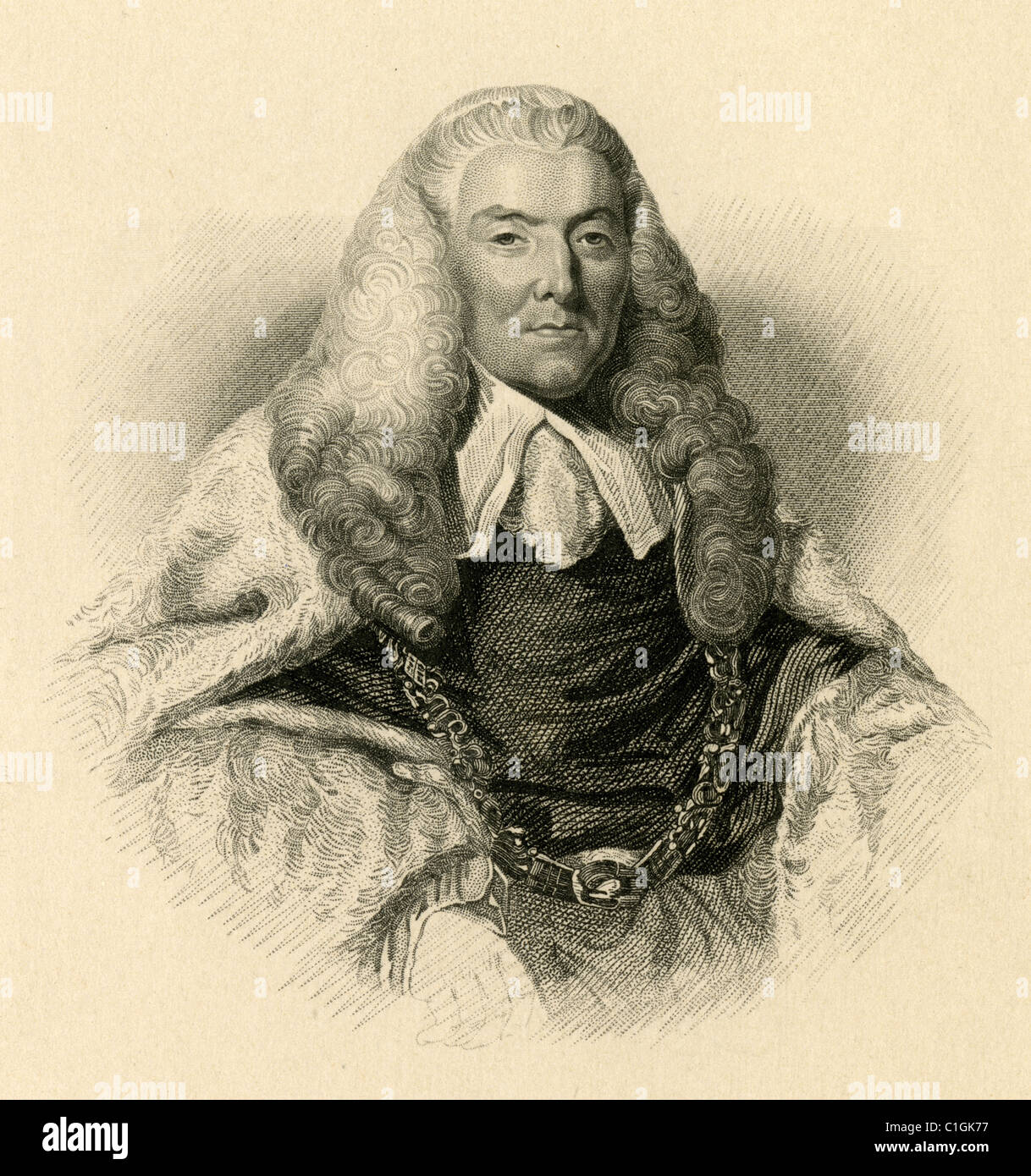 William Murray, 1st Earl of Mansfield - Stock Image