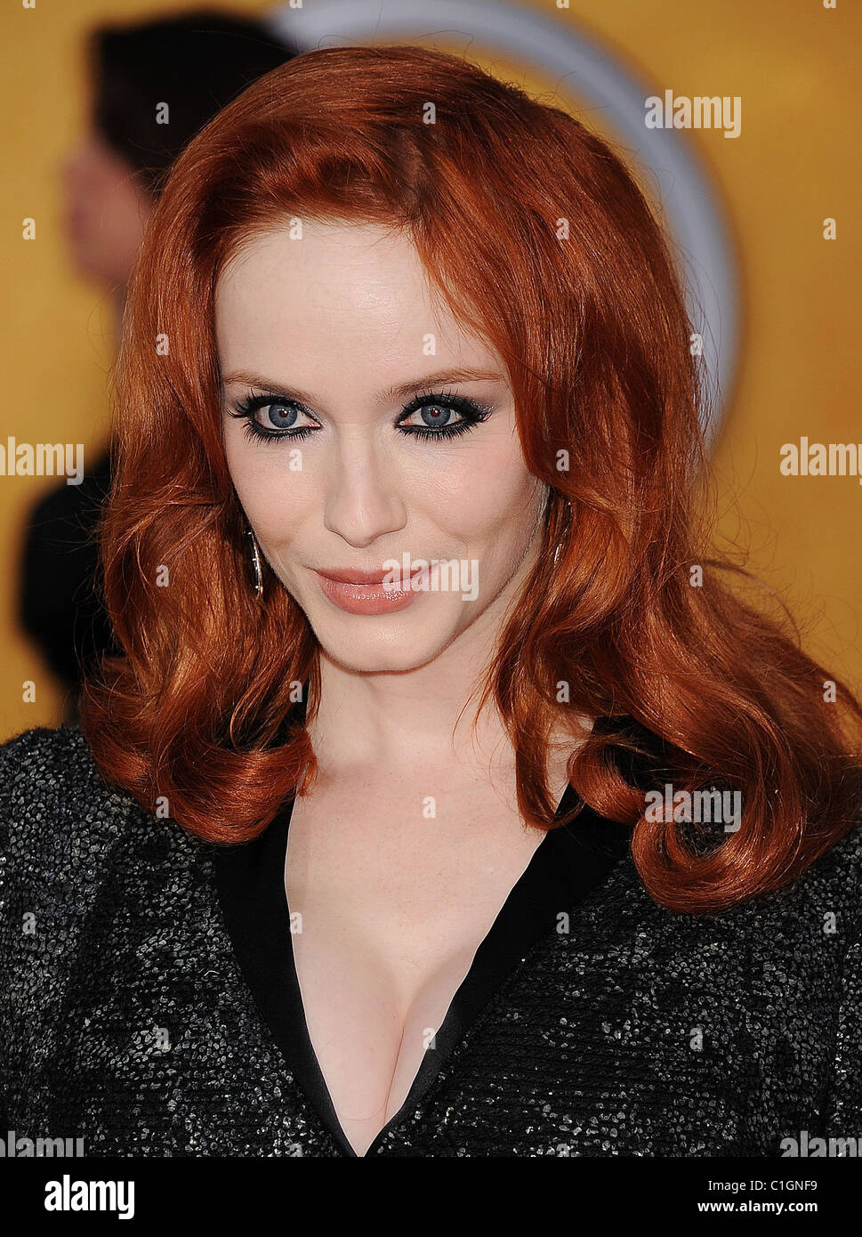 CHRISTINA HENDRICKS  US film and TV actress in March 2011. Photo Jeffrey Mayer - Stock Image