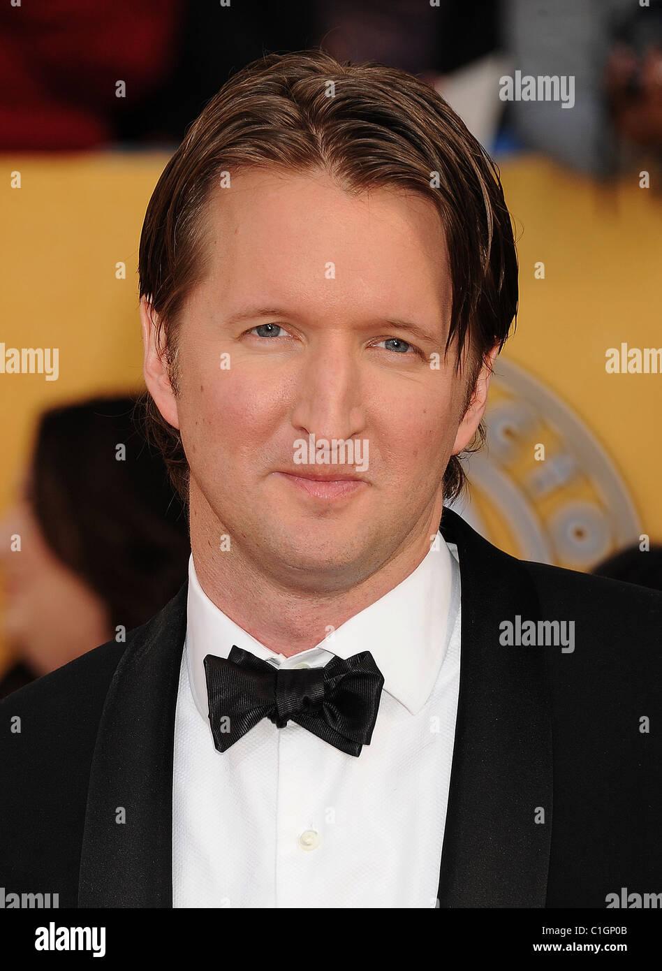 TOM HOOPER  UK film director in March 2011. Photo Jeffrey Mayer - Stock Image