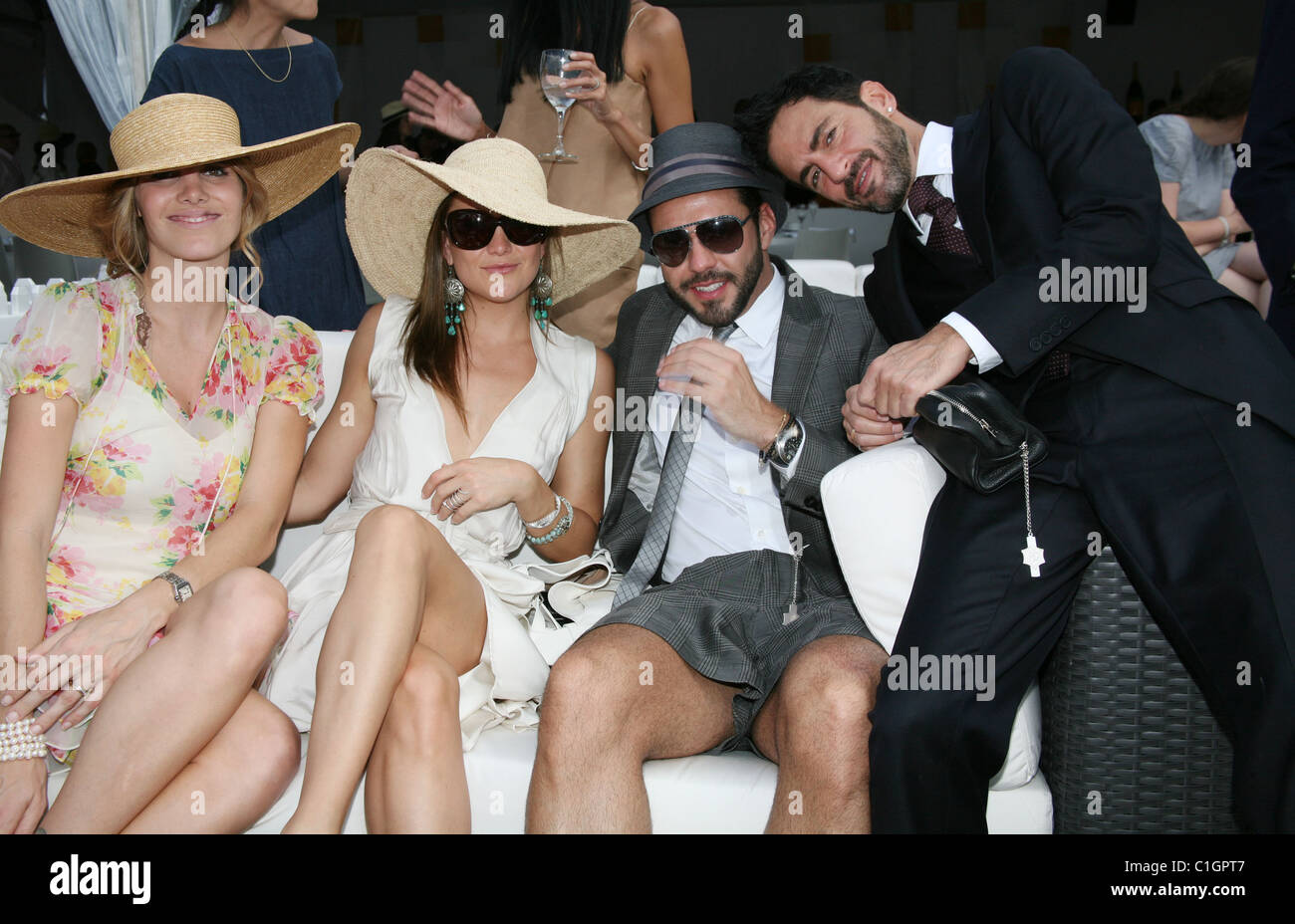 773ff027e1522 Guest,Kate Hudson, Lorenzo Martone and Marc Jacobs 2nd Annual Veuve  Clicquot Manhattan Polo Classic held at Governors Island.