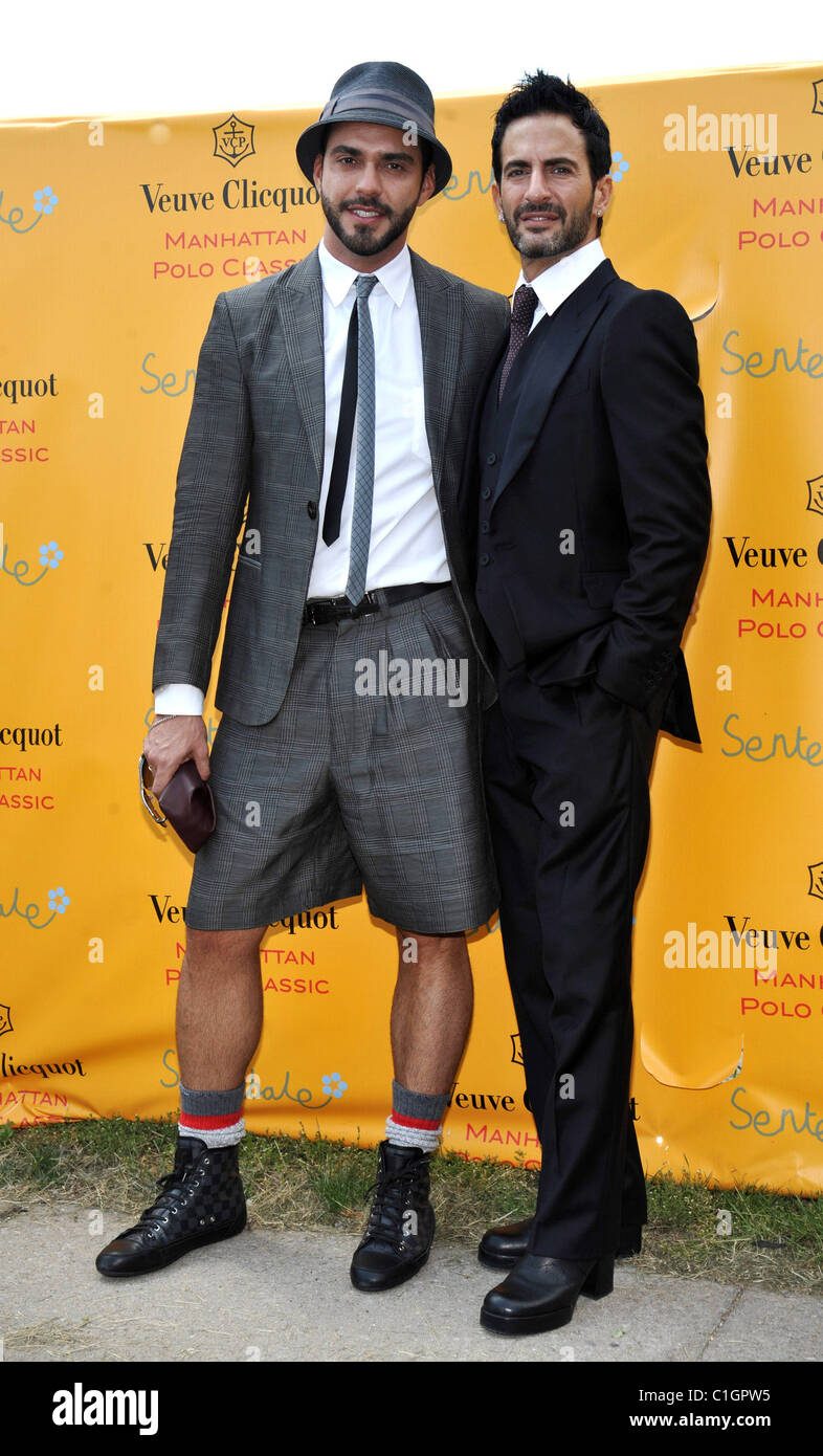 cf7a46e4009ac Lorenzo Martone and Marc Jacobs 2nd Annual Veuve Clicquot Manhattan Polo  Classic held at Governors Island. New York City, USA -