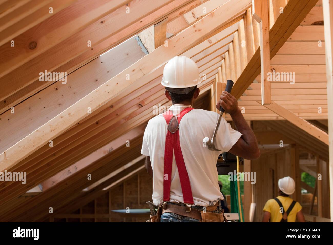 Frame House Under Construction Stock Photos Amp Frame House