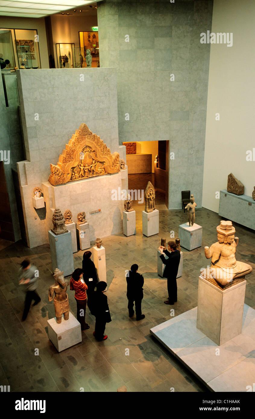 France, Paris, Guimet Museum of Asian art - Stock Image