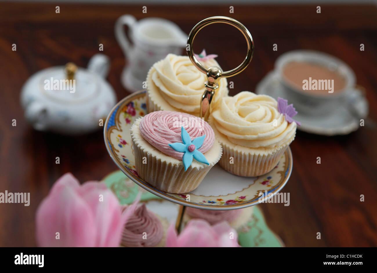 Cupcake - Stock Image