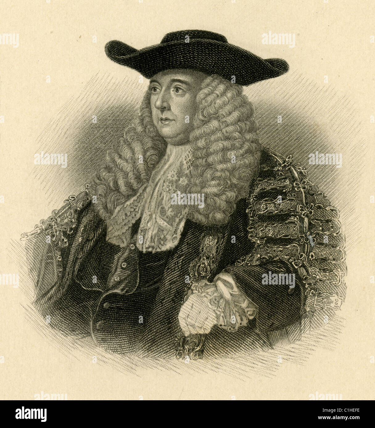 Charles Pratt, 1st Earl Camden - Stock Image