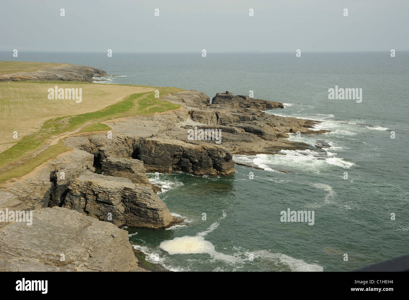 Hook Lighthouse view - Stock Image